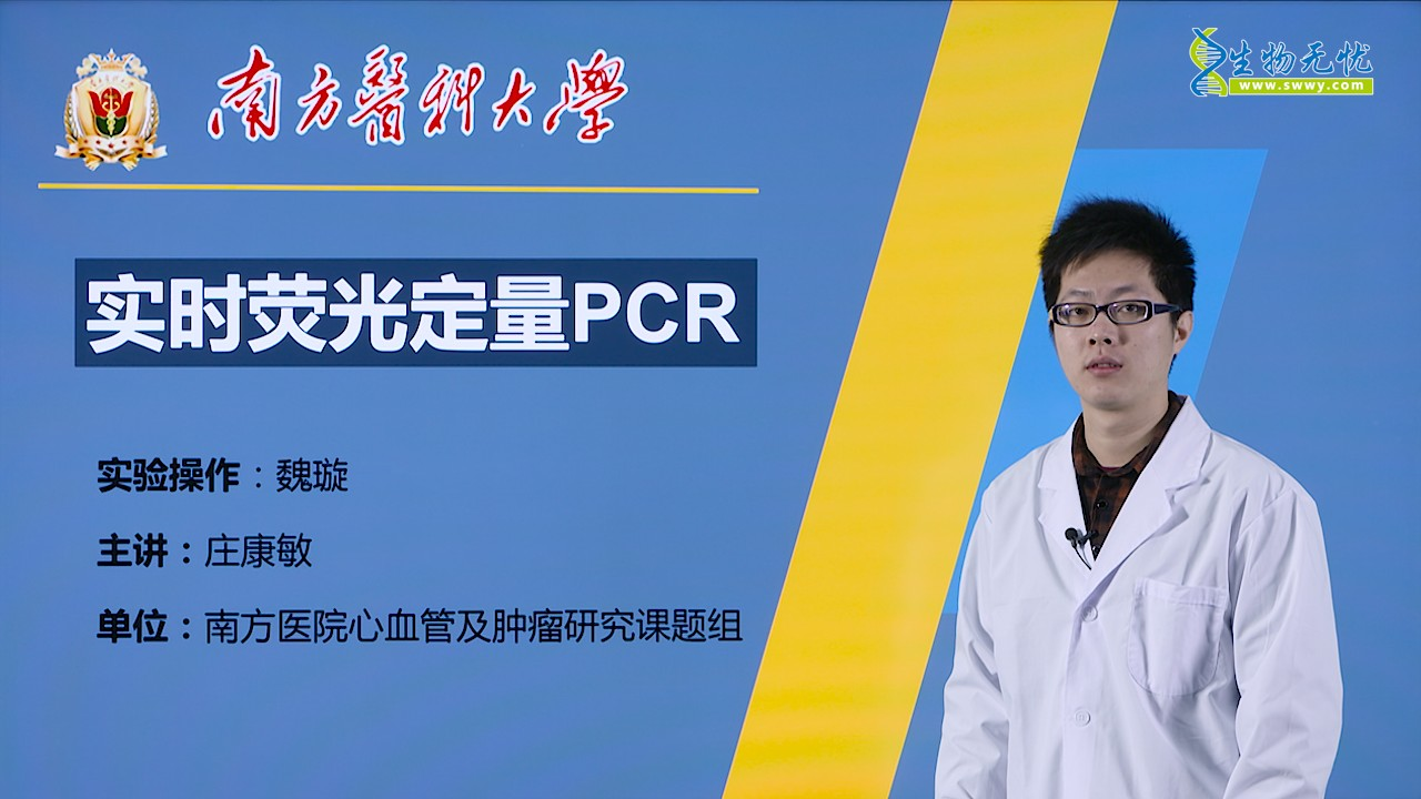 庄康敏:实时荧光定量PCR