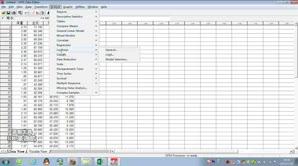 SPSS线性相关分析1-多个变量间的相关分析